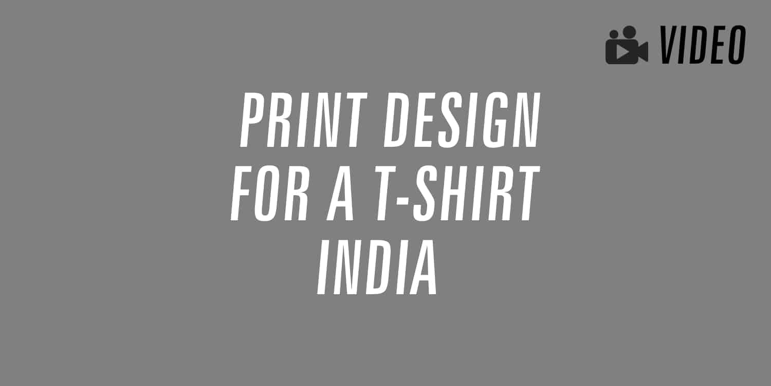 print design for a t-shirt india
