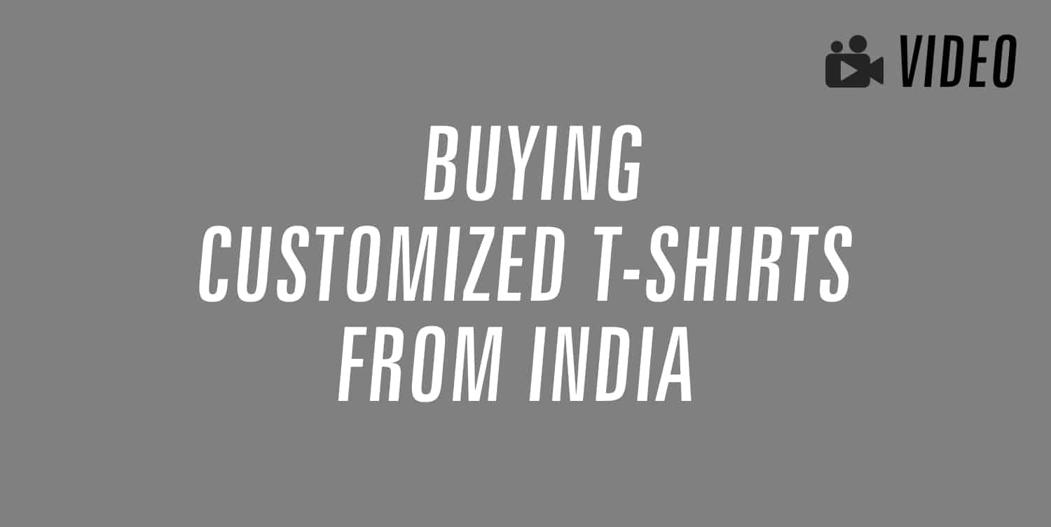 buying customized t-shirts from india