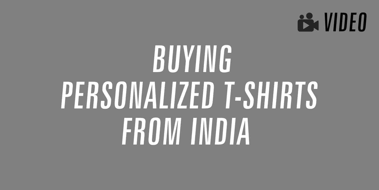 personalized t-shirts india