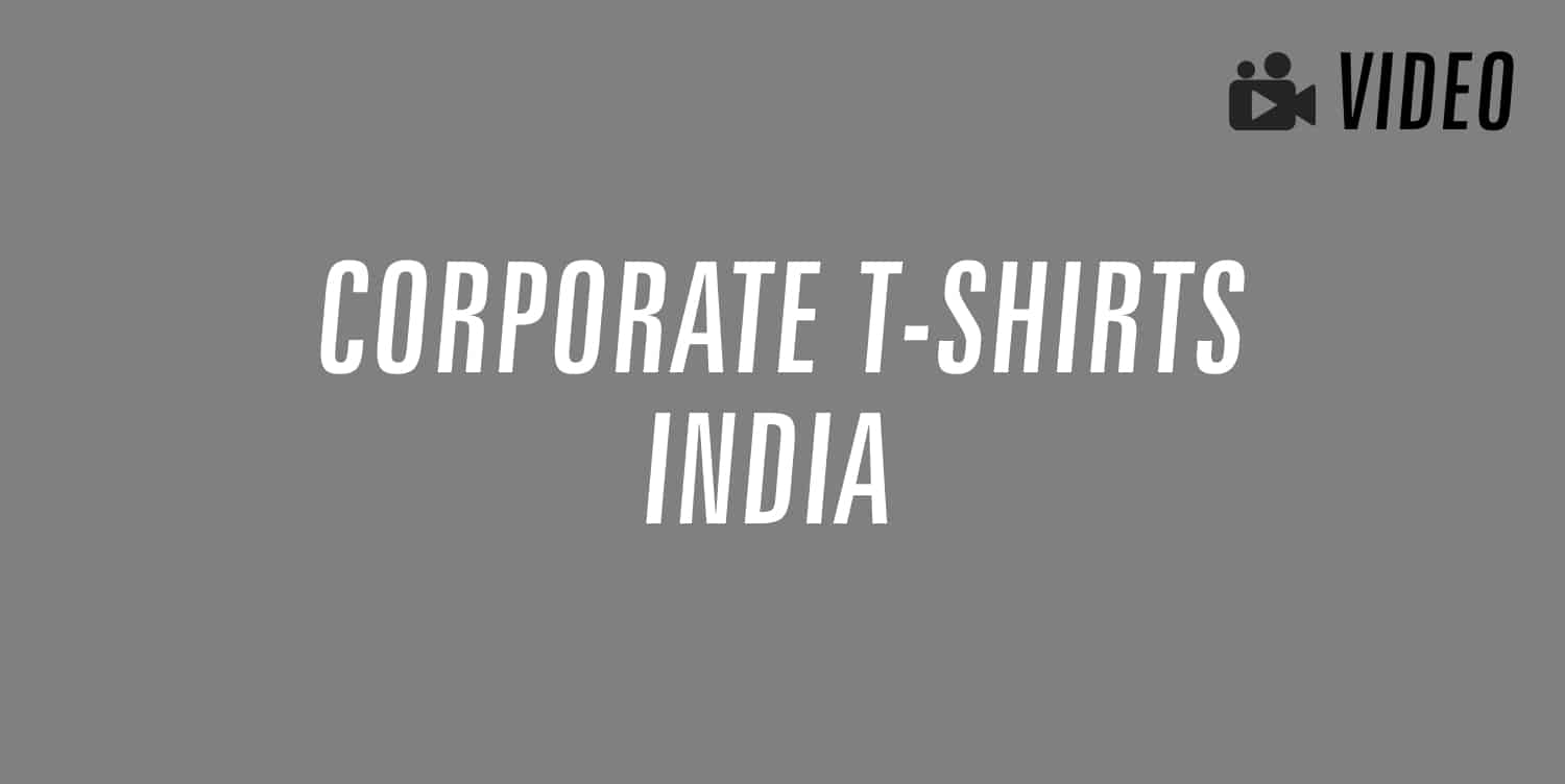 corporate t-shirts india