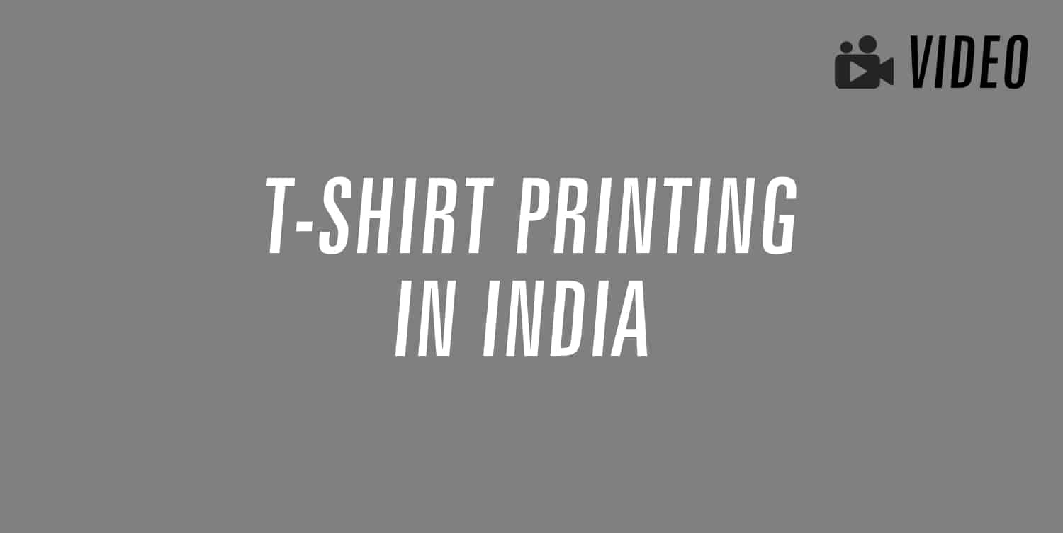 t-shirt printing in india