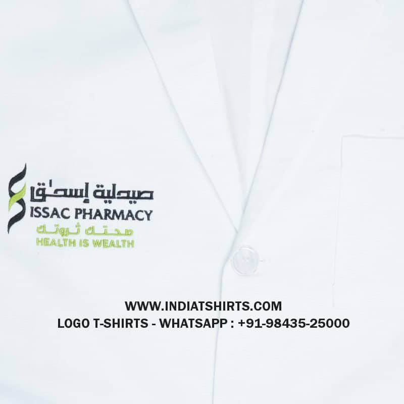 Logo Embroidery Doctor Coats
