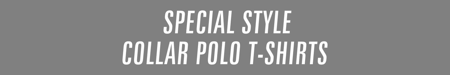 special style collar polo t-shirts